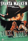Svarta masken 1935 poster Buck Jones
