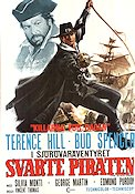 Svarte piraten 1972 poster Terence Hill