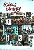 Sweet Charity 1969 poster Shirley MacLaine