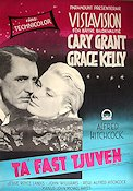 Ta fast tjuven 1956 poster Cary Grant Alfred Hitchcock