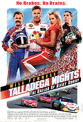 Talladega Nights 2006 poster Will Ferrell Adam McKay