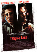 Tango and Cash 1989 poster Sylvester Stallone