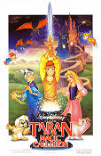 Taran and the Magic Cauldron 1985 poster