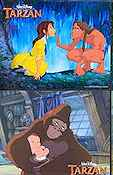 Tarzan Disney Lobbykort USA 11x14 NM original