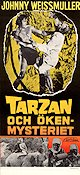 Tarzan och ökenmysteriet 1943 poster Johnny Weissmuller William Thiele