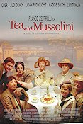 Tea with Mussolini 1999 poster Cher