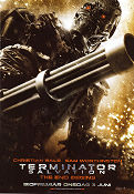 Terminator Salvation 2009 poster Christian Bale