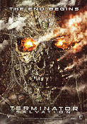 Terminator Salvation Poster 70x100cm advance B RO original