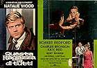 This Property is Condemned 1966 Filmaffisch Robert Redford