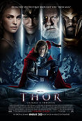 Thor 2011 poster Chris Hemsworth Kenneth Branagh