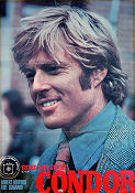 Three Days of the Condor 1976 poster Robert Redford
