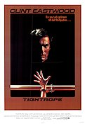 Tightrope 1984 poster Clint Eastwood