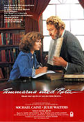 Timmarna med Rita 1983 poster Michael Caine Lewis Gilbert