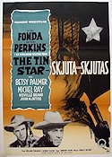 The Tin Star 1957 poster Henry Fonda