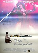 Tina What´s Love Got to do with it 1995 poster Angela Bassett