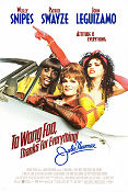 To Wong Foo Poster 68x102cm USA RO original