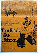 Tom Black hästdödaren 1973 poster Richard Widmark