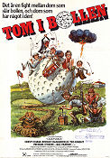 Tom i bollen 1980 poster Chevy Chase Harold Ramis