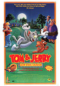 Tom och Jerry gör stan osäker 1992 poster Tom and Jerry Phil Roman