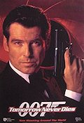 Tomorrow Never Dies 1997 poster Pierce Brosnan