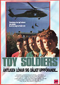 Toy Soldiers 1991 poster Sean Astin