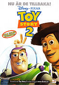 Toy Story 2 1999 poster Tom hanks John Lasseter