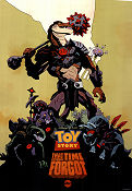 Toy Story That Time Forgot ABC 2014 affisch