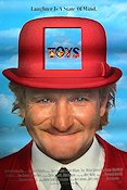 Toys 1992 poster Robin Williams