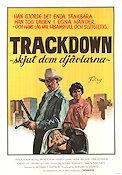 Trackdown Poster 70x100cm NM original