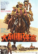 The Train Robbers 1973 poster John Wayne Burt Kennedy