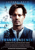 Transcendence 2014 poster Johnny Depp Wally Pfister
