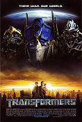 Transformers 2007 poster Shia LaBeouf Michael Bay