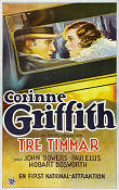 Tre timmar 1927 poster Corinne Griffith James Flood