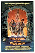 Treasure of the Moon Goddess 1987 poster Asher Brauner