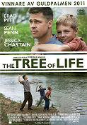The Tree of Life 2011 poster Brad Pitt Terrence Malick