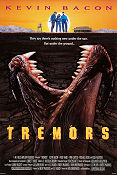Tremors 1990 poster Kevin Bacon Ron Underwood