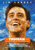 The Truman Show 1998 poster Jim Carrey Peter Weir