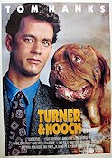Turner and Hooch 1989 poster Tom Hanks