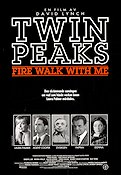 Twin Peaks Fire Walk with Me Poster 70x100cm RO original