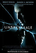 Unbreakable 2000 poster Bruce Willis