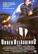 Under belägring 2 1995 poster Steven Seagal