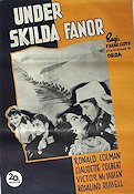 Under skilda fanor Poster 70x100cm GD-FN original