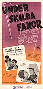 Under skilda fanor 1936 poster Ronald Colman