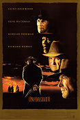 Unforgiven 1992 poster Clint Eastwood