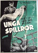 Unga spillror 1949 poster André Le Gall