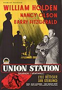 Union Station 1951 poster William Holden