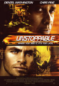 Unstoppable 2010 poster Denzel Washington Tony Scott