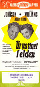 Ur vattnet i elden 1950 poster Esther Williams