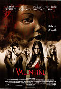 Valentine 2001 poster Denise Richards