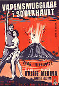 Vapensmugglare i Söderhavet 1954 poster Dennis O´Keefe William Castle